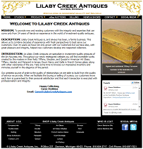 Lilaby Creek Antiques - Specializing in Investment-Quality Art Nouveau
